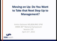 Moving on Up: Do You Want to Take that Next Step Up to Management?