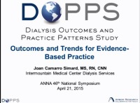 The Dialysis Outcomes and Practice Patterns Study (DOPPS) and Practice Monitor: Outcomes and Trends for Evidence-Based Practice