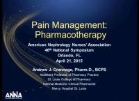 Pain Management Pharmacotherapy