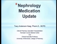 Nephrology Medication Update