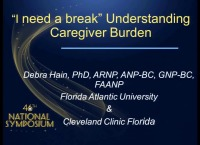 I Need a Break: Understanding Caregiver Burden
