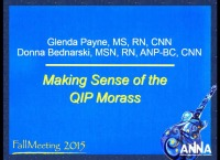 Issues in Management - Making Sense of the QIP Morass I