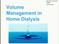 Home Therapies ~ Fluid Management Strategies for Patients on Home Therapies