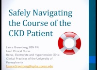 Chronic Kidney Disease (CKD) ~ CKD Modality Education: A Focus on Quality of Life