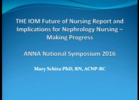 The IOM Future of Nursing Report and Implications for Nephrology Nursing