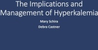 The Implications and Management of Hyperkalemia