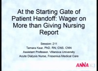 At the Starting Gate of Patient Handoff: Wagering on More than Giving Nursing Report