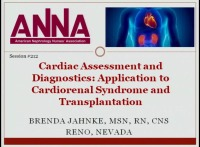 Cardiac Assessment and Diagnostics: Application to Cardiorenal Syndrome and Transplantation