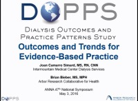 Dialysis Outcomes and Practice Patterns Study (DOPPS) and Dialysis Practice Monitor (DPM): Outcomes and Trends for Evidence-Based Practice