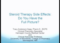 Steroid Therapy Side Effects: Do You Have the Full Picture?