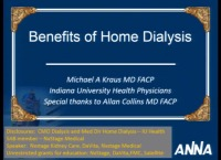 Benefits of Short Daily Home Hemodialysis