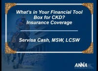 What's in Your Financial Toolbox for CKD?  - Insurance Coverage
