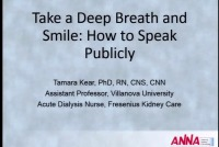 Take a Deep Breath and Smile: How to Speak Publicly