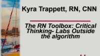 RN Toolbox: Critical Thinking - Labs Outside the Algorithm