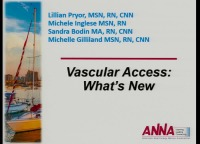 Vascular Access: What's New?