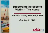 Supporting the Second Victim, the Nurse