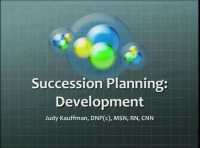 Who's Next? Succession Planning