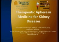 Using Apheresis to Manage Kidney Disease