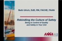 Rekindling the Culture of Safety