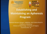 Establishing and Maintaining an Apheresis Program
