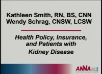 Health Policy, Insurance, and Patients with Kidney Disease