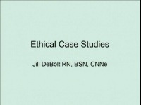 Ethical Case Studies