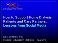Use of Social Media to Support Home Therapies