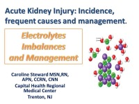 Acute Kidney Injury: Incidence, Frequent Causes and Management - Electrolyte Imbalances and Management
