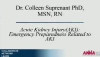 Acute Kidney Injury: Emergency Preparedness Related to AKI