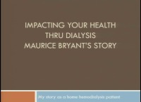 Improving Nursing Knowledge and Skills of Home Modalities -  Impacting Your Health Through Dialysis