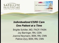 Individualized ESRD Care – One Patient at a Time