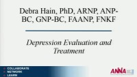 Advanced Practice ~ Depression, Assessment, Treatment, and Evaluation in Chronic Disease