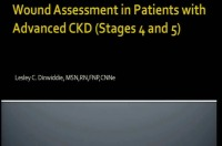 Wound Assessment in Patients with Advanced CKD (Stages 4 & 5)