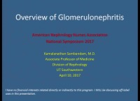 Differentiation of Glomerular Diseases and Their Diagnosis