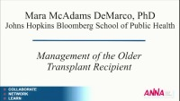 Management of the Older Transplant Recipient
