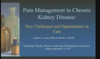 Pain Management in CKD: New Challenges and Opportunities in Care