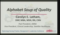 Alphabet Soup of Quality