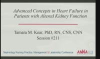 Advanced Concepts in Heart Failure in Patients with Altered Kidney Function
