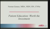Patient Education: Worth the Investment