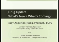 Drug Update: What's New? What's Coming?