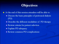 Certification Review Course: Peritoneal Dialysis