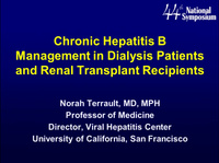 Liver-Renal Connection: Hepatitis Part I