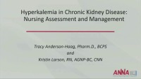 Hyperkalemia in Stage 5 Chronic Kidney Disease: Nursing Assessment and Management