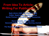 From Idea to Article: Writing for Publication