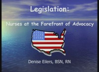 Health Policy - Nurses at the Forefront of Advocacy