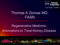 Regenerative Medicine: Innovations to Treat Kidney Disease