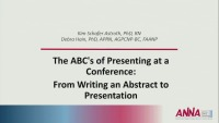 The ABCs of Presenting at a Conference: From Writing an Abstract to Presentation
