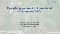 Pediatric CKD Care: Not Little Adults