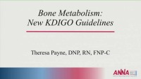 Bone Metabolism: New KDIGO Guidelines