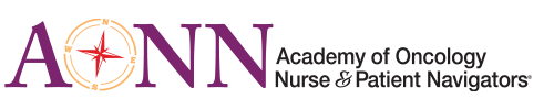 Academy of Oncology Nurse & Patient Navigators Logo